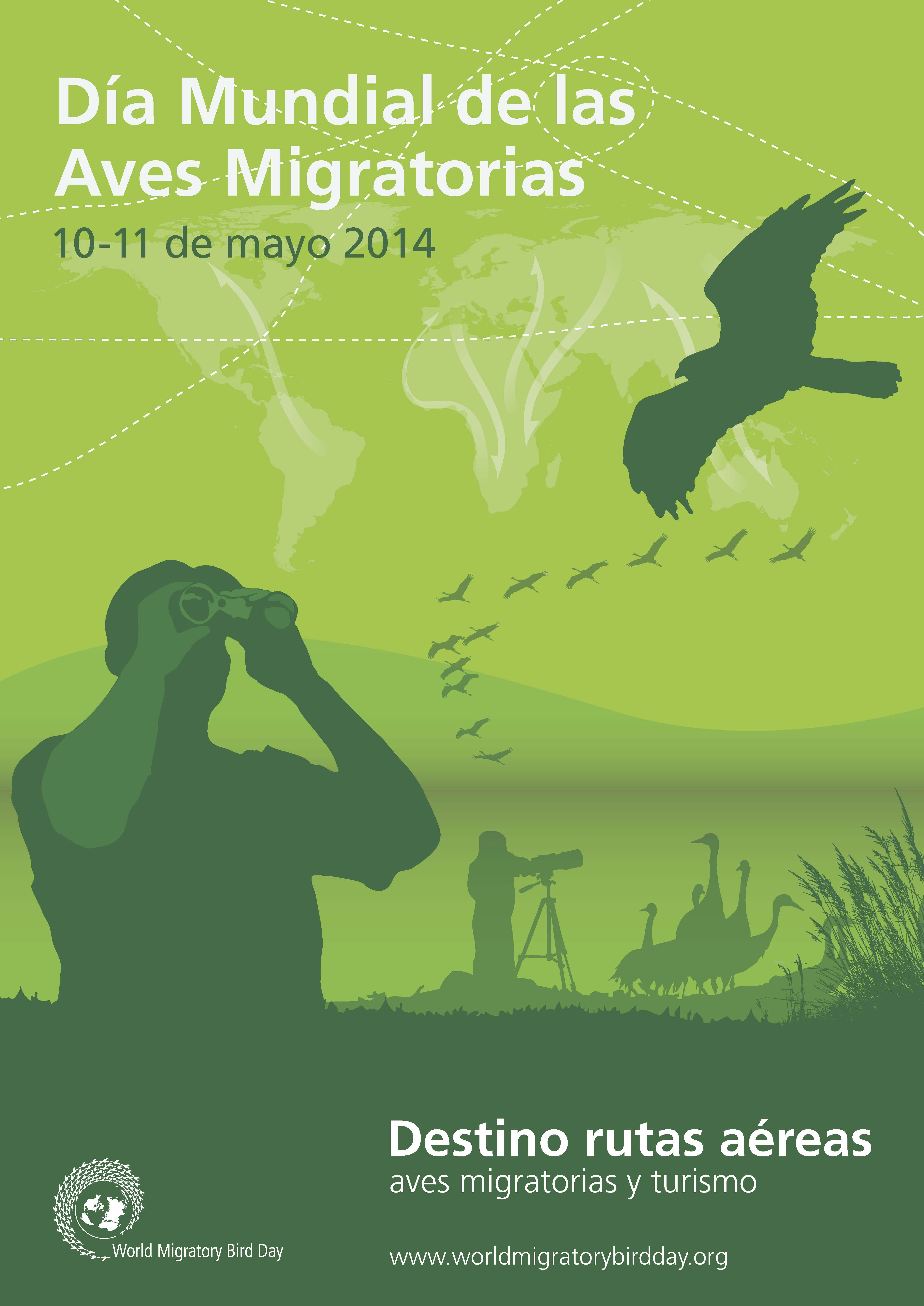 World Migratory Bird Day 2014 Poster