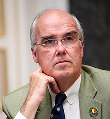 President of the International Council for Game and Wildlife Conservation (CIC), George Aman