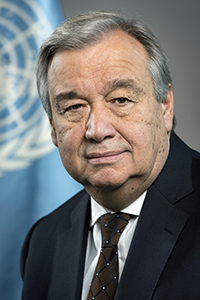 United Nations Secretary-General, António Guterres<br />