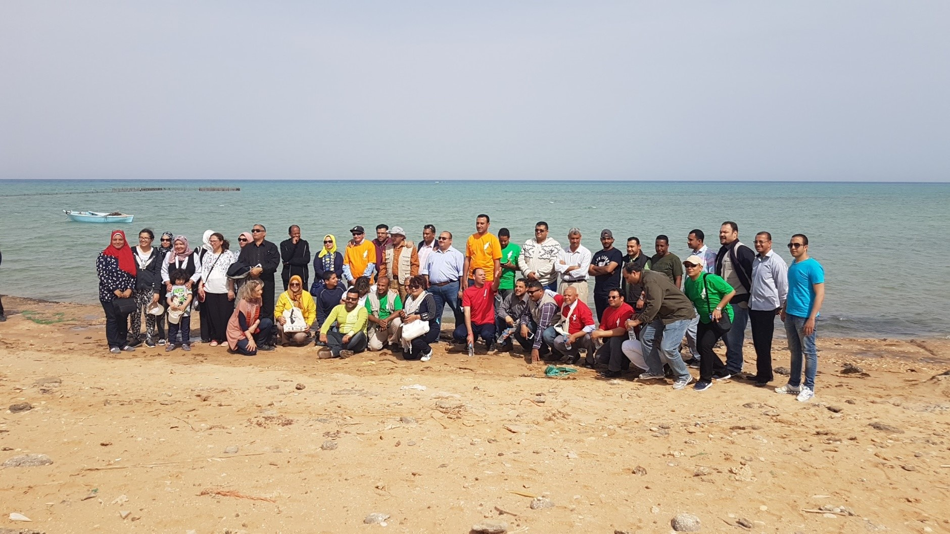 Group photo of the participants at WMBD celebration in Egypt