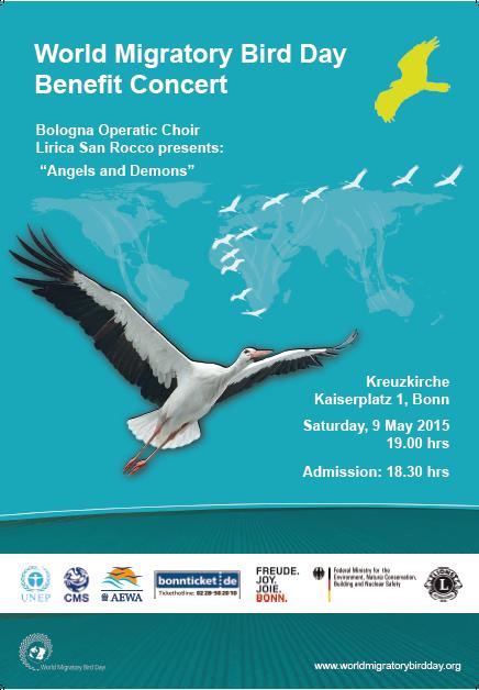 Hrs Bonn bonn concert wmbd 2015 migratory bird day