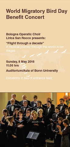 Hrs Bonn bonn concert migratory bird day